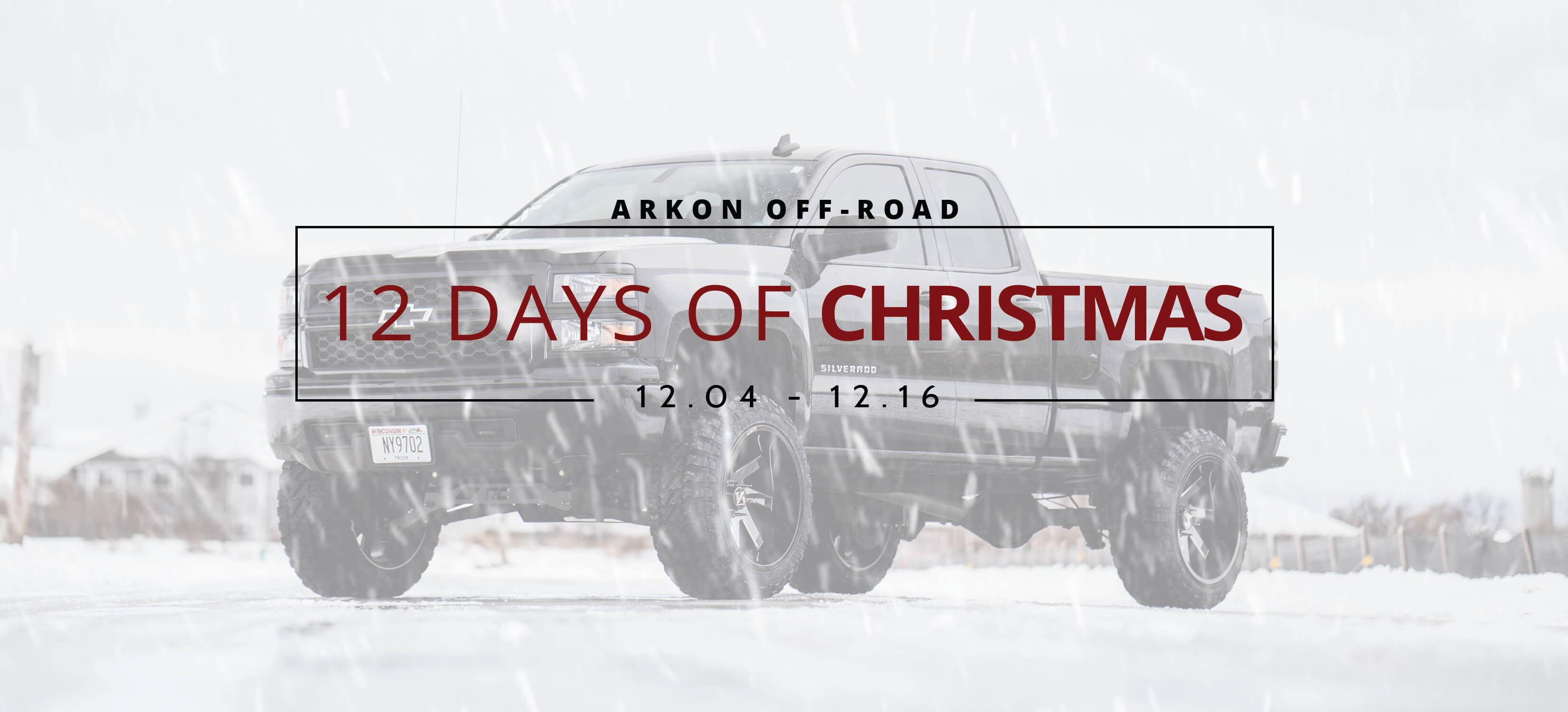 ARKON OFF-ROAD Christmas Banner