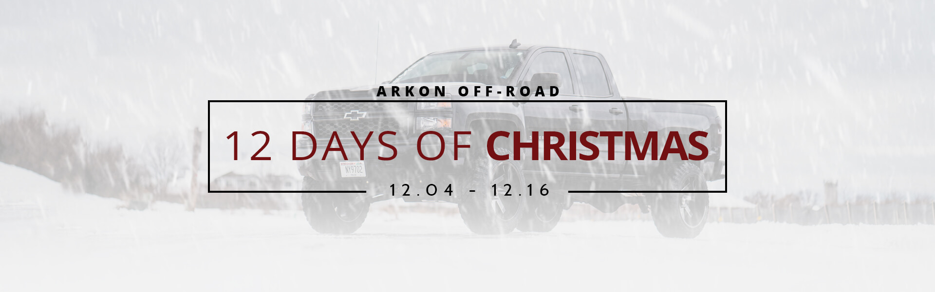 12 Days of Christmas Sale Banner
