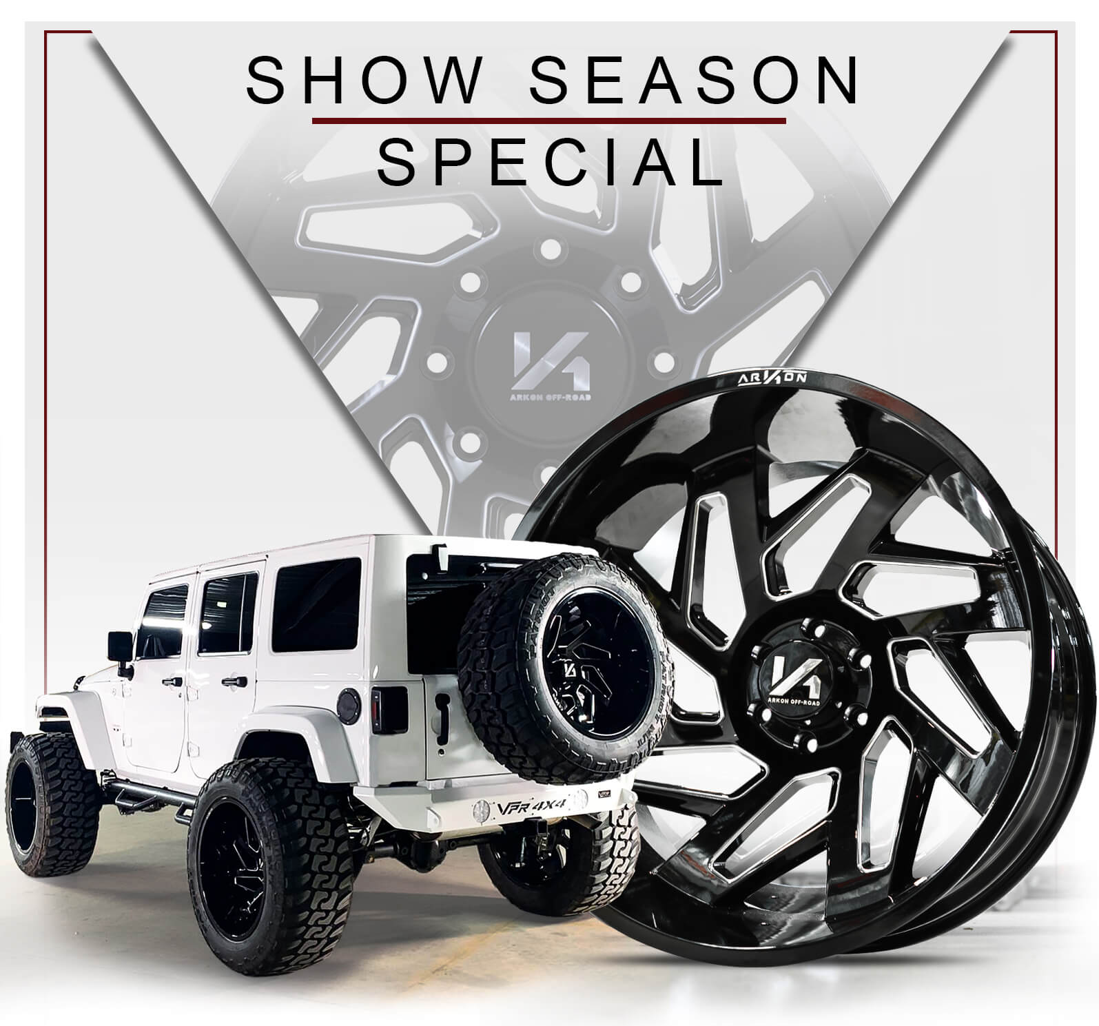 ARKON Show Season Special | Cleopatra Wheels