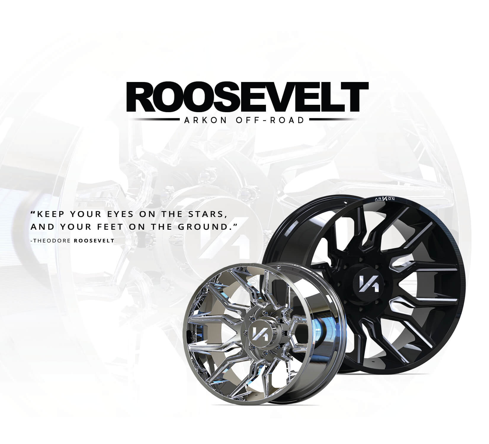 ARKON Pre Launch | Roosevelt Wheels