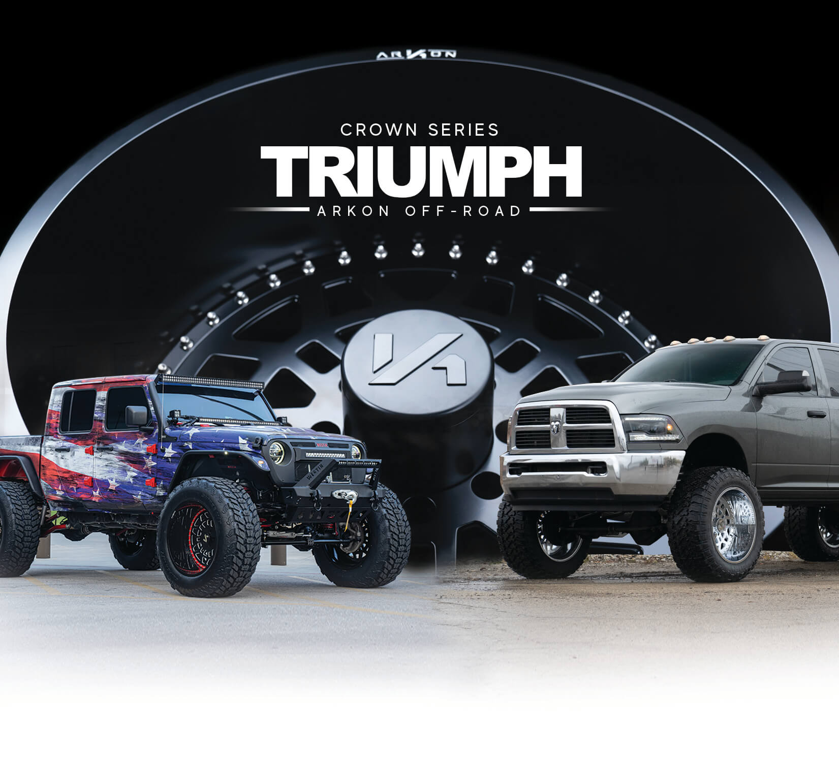 ARKON Pre Launch | Crown Series Triumph Wheels
