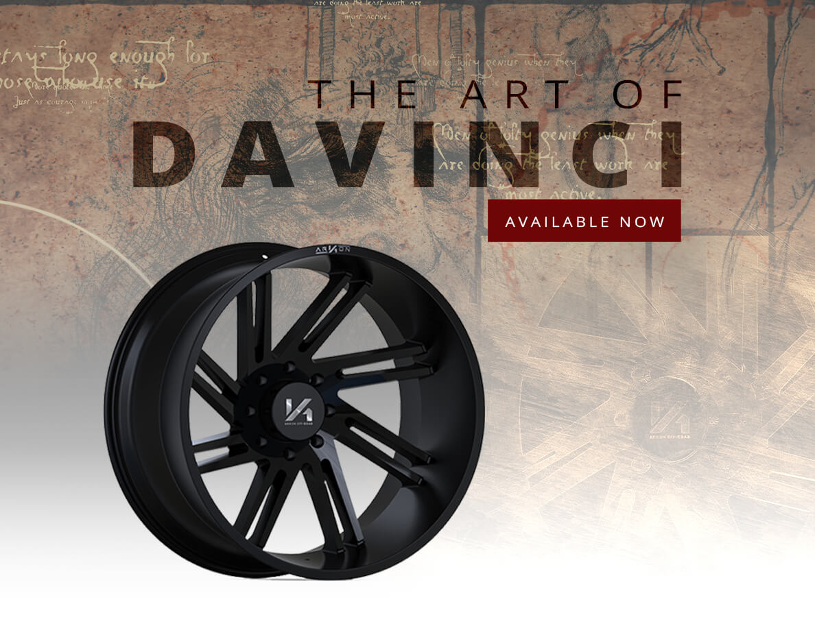 ARKON OFF-ROAD's Newest Wheel - The Davinci
