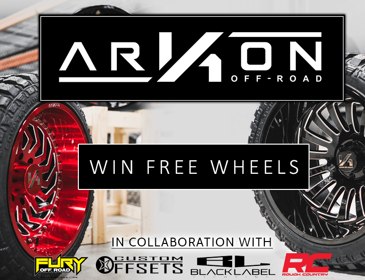Arkon Offroad, Custom Offsets, Black Label Lighting, Fury Offroad & Rough Country Full Build Giveaway
