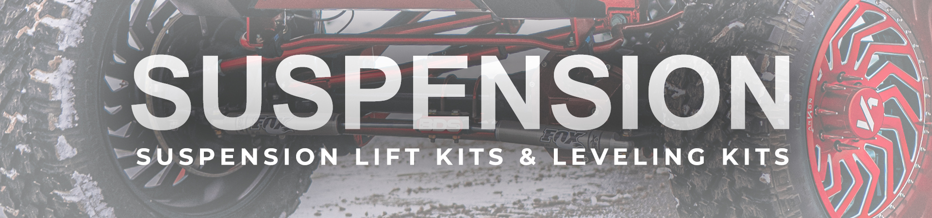 Suspension lifts and leveling kits