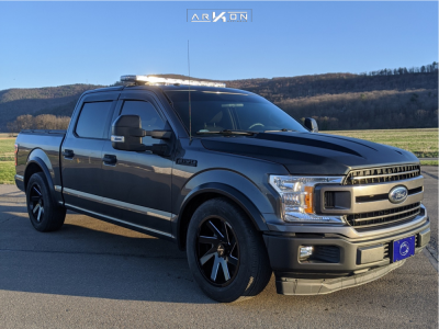 2018 Ford F-150 - 20x9 -1mm - ARKON OFF-ROAD Lincoln - Lowered on Springs - 275/55R20