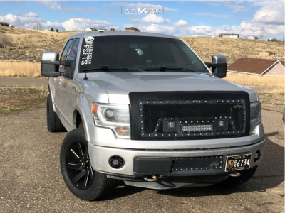 2013 Ford F-150 - 20x9 -1mm - ARKON OFF-ROAD Lincoln - Leveling Kit - 275/55R20