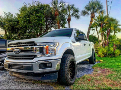 2018 Ford F-150 - 20x10 -25mm - ARKON OFF-ROAD Lincoln - Leveling Kit - 275/60R20