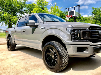 """2018 Ford F-150 - 20x10 -25mm - ARKON OFF-ROAD Lincoln - Leveling Kit - 33"""" x 11.5"""""""