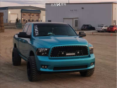 "2011 Dodge Ram 1500 - 20x12 -55mm - ARKON OFF-ROAD Lincoln - Leveling Kit - 33"" x 12.5"""