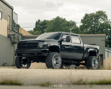 "2010 Chevrolet Silverado 1500 - 24x14 -81mm - ARKON OFF-ROAD Roosevelt - Suspension Lift 7.5"" - 35"" x 15.5"""