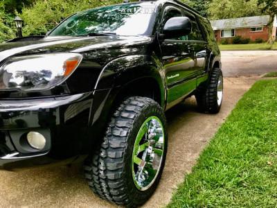 "2006 Toyota 4Runner - 20x12 -51mm - ARKON OFF-ROAD Lincoln - Suspension Lift 3"" - 33"" x 12.5"""