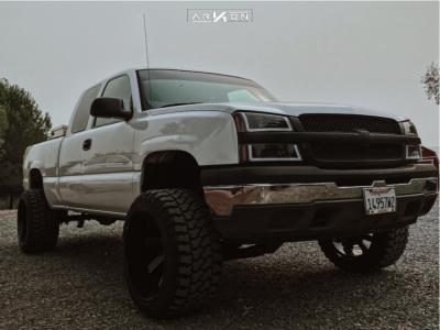 "2005 Chevrolet Silverado 1500 - 22x14 -81mm - ARKON OFF-ROAD Lincoln - Suspension Lift 6"" - 33"" x 14.5"""