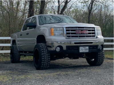 "2009 GMC Sierra 1500 - 20x12 -44mm - ARKON OFF-ROAD Lincoln - Suspension Lift 5"" - 33"" x 12.5"""