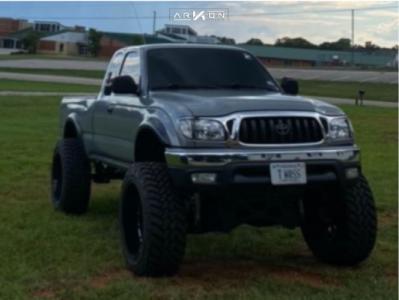 "2003 Toyota Tacoma - 22x12 -51mm - ARKON OFF-ROAD Caesar - Suspension Lift 6"" - 35"" x 12.5"""