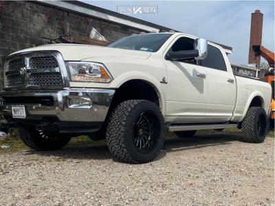 "2016 Dodge Ram 2500 - 20x12 -55mm - ARKON OFF-ROAD Caesar - Leveling Kit - 33"" x 12.5"""