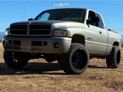 "2001 Dodge Ram 1500 - 20x12 -51mm - ARKON OFF-ROAD Caesar - Suspension Lift 2.5"" - 33"" x 12.5"""