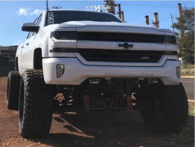 "2018 Chevrolet Silverado 1500 - 26x14 -81mm - ARKON OFF-ROAD Lincoln - Suspension Lift 12"" - 38"" x 15.5"""