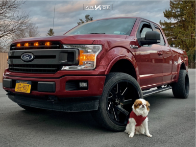 2019 Ford F-150 - 22x12 -51mm - ARKON OFF-ROAD Lincoln - Leveling Kit - 305/50R22