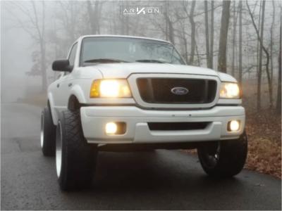 """2004 Ford Ranger - 22x12 -51mm - ARKON OFF-ROAD Caesar - Suspension Lift 4"""" - 305/50R22"""