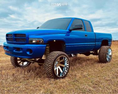 "1999 Dodge Ram 1500 - 24x14 -81mm - ARKON OFF-ROAD Lincoln - Suspension Lift 5"" - 35"" x 13.5"""