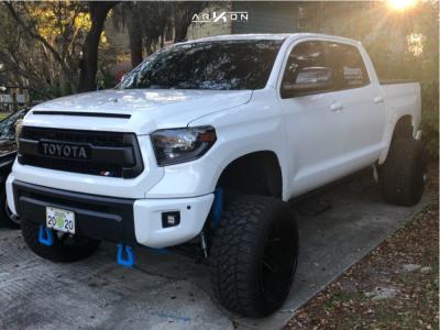 "2015 Toyota Tundra - 24x14 -81mm - ARKON OFF-ROAD Lincoln - Suspension Lift 9"" - 35"" x 13.5"""