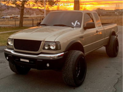 2002 Ford Ranger - 20x12 -51mm - ARKON OFF-ROAD Caesar - Leveling Kit - 285/50R20