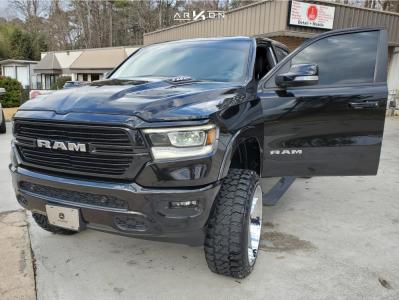 "2019 Ram 1500 - 24x12 -44mm - ARKON OFF-ROAD Lincoln - Suspension Lift 6"" - 35"" x 12.5"""