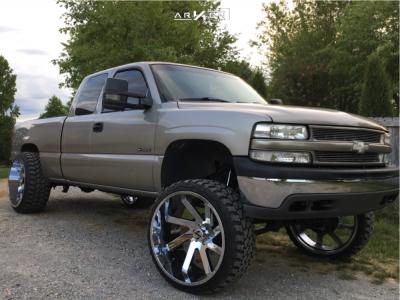 "2002 Chevrolet Silverado 1500 - 26x14 -81mm - ARKON OFF-ROAD Lincoln - Suspension Lift 6"" - 35"" x 13.5"""