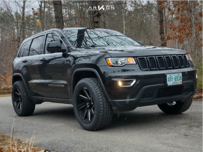 2018 Jeep Grand Cherokee - 20x12 -51mm - ARKON OFF-ROAD Lincoln - Leveling Kit - 275/55R20