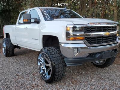 "2018 Chevrolet Silverado 1500 - 26x14 -81mm - ARKON OFF-ROAD Lincoln - Suspension Lift 10"" - 37"" x 13.5"""