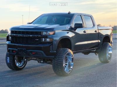 """2019 Chevrolet Silverado 1500 - 26x14 -81mm - ARKON OFF-ROAD Caesar - Suspension Lift 9"""" - 37"""" x 13.5"""""""