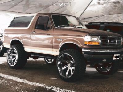 "1993 Ford Bronco - 24x14 0mm - ARKON OFF-ROAD Lincoln - Suspension Lift 6"" - 35"" x 13.5"""