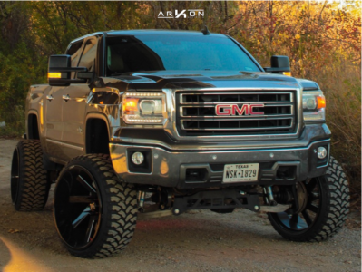 "2015 GMC Sierra 1500 - 26x14 -81mm - ARKON OFF-ROAD Lincoln - Suspension Lift 8"" - 35"" x 13.5"""