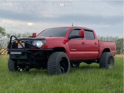 "2007 Toyota Tacoma - 22x14 -81mm - ARKON OFF-ROAD Lincoln - Suspension Lift 4"" - 35"" x 13.5"""