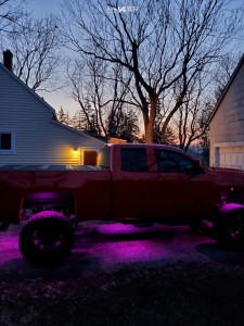"2017 Chevrolet Silverado 1500 - 22x14 -81mm - ARKON OFF-ROAD Lincoln - Suspension Lift 8"" - 375/65R22"