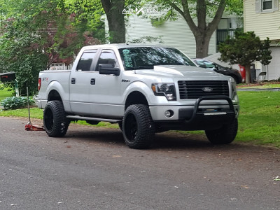 """2014 Ford F-150 - 20x12 0mm - ARKON OFF-ROAD Lincoln - Leveling Kit - 33"""" x 20"""""""