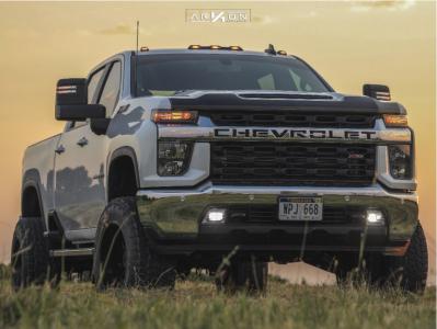 """2020 Chevrolet Silverado 3500 HD - 20x12 -51mm - ARKON OFF-ROAD Mandela - Suspension Lift 3"""" - 35"""" x 12.5"""""""