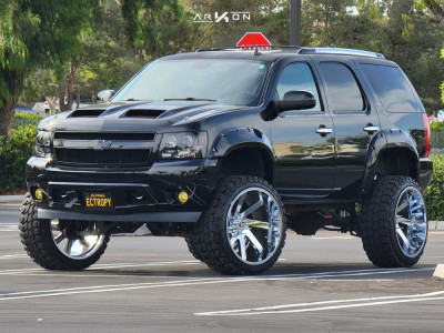 "2013 Chevrolet Tahoe - 26x14 -76mm - ARKON OFF-ROAD Lincoln - Suspension Lift 9"" - 37"" x 13.5"""