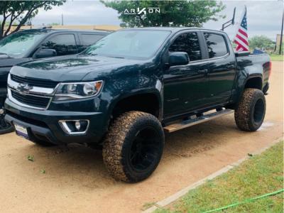 """2018 Chevrolet Colorado - 20x12 -51mm - ARKON OFF-ROAD Mandela - Suspension Lift 5.5"""" - 33"""" x 12.5"""""""