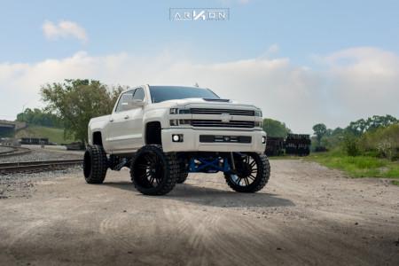 "2014 Chevrolet Silverado 1500 - 26x14 -81mm - ARKON OFF-ROAD DaVinci - Suspension Lift 12"" - 37"" x 13.5"""