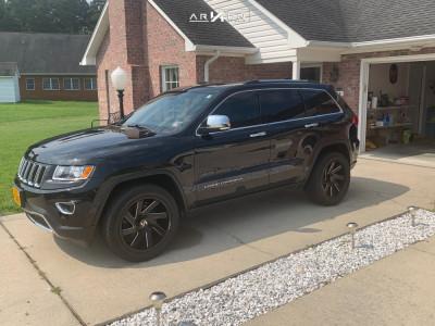 2015 Jeep Grand Cherokee - 20x9 1mm - ARKON OFF-ROAD Lincoln - Stock Suspension - 275/55R20