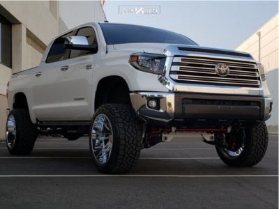 """2019 Toyota Tundra - 22x12 -51mm - ARKON OFF-ROAD DaVinci - Suspension Lift 6"""" - 33"""" x 12.5"""""""