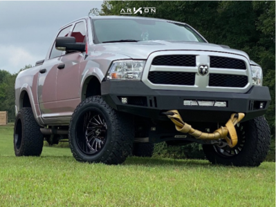 "2015 Ram 1500 - 20x12 -51mm - ARKON OFF-ROAD Caesar - Suspension Lift 6"" - 35"" x 12.5"""