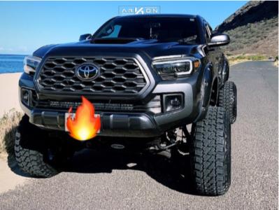 "2016 Toyota Tacoma - 24x14 -81mm - ARKON OFF-ROAD Davinci - Suspension Lift 8"" - 35"" x 12.5"""