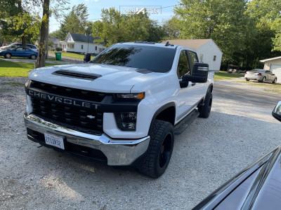 2020 Chevrolet Silverado 2500 HD - 20x10 -25mm - ARKON OFF-ROAD Mandela - Stock Suspension - 285/55R20