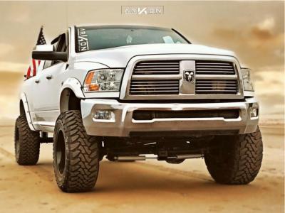 "2012 Ram 3500 - 20x12 -54mm - ARKON OFF-ROAD Lincoln - Suspension Lift 6"" - 37"" x 13.5"""