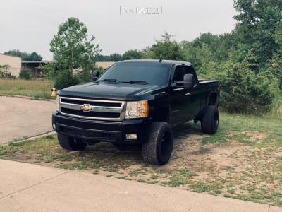 "2008 Chevrolet Silverado 1500 - 20x12 -52mm - ARKON OFF-ROAD Lincoln - Suspension Lift 8"" - 305/65R20"
