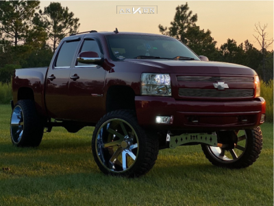 "2007 Chevrolet Silverado 1500 - 26x14 -76mm - ARKON OFF-ROAD Lincoln - Suspension Lift 9"" - 37"" x 13.5"""