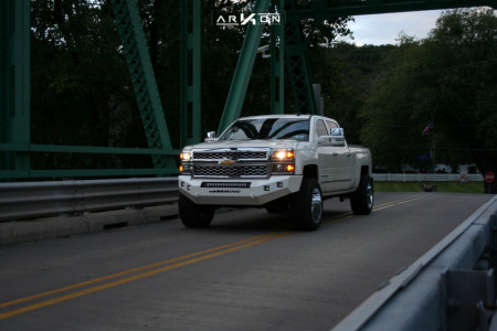 "2014 Chevrolet Silverado 1500 - 20x12 -51mm - ARKON OFF-ROAD Caesar - Leveling Kit - 33"" x 12.5"""