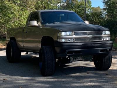 """1999 Chevrolet Silverado 1500 - 26x14 -81mm - ARKON OFF-ROAD Caesar - Stock Suspension - 30"""" x 12.5"""""""
